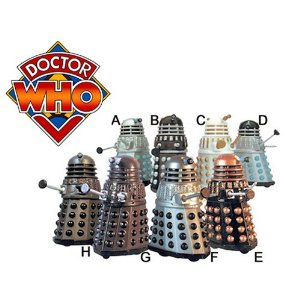 Doctor Who Daleks