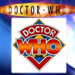 Doctor Who logo, both old and new