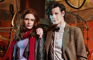 Matt Smith and Karen Gillam