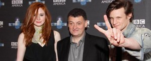 Steven Moffat, Matt Smith, Karen Gillam
