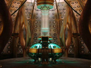 The TARDIS interior